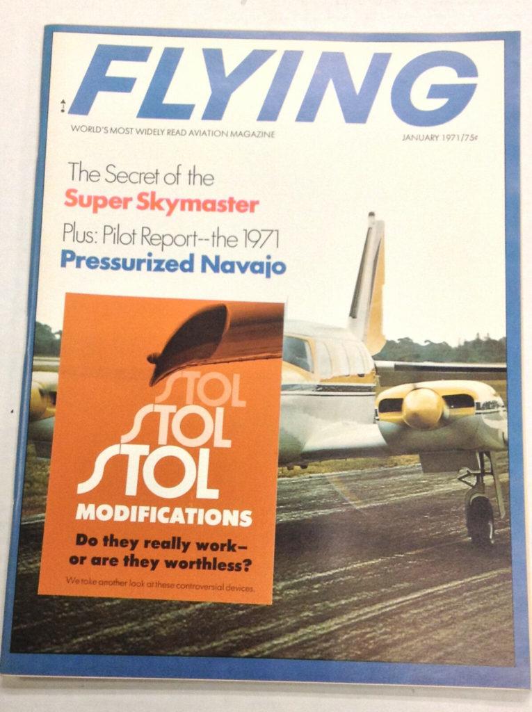 Flying Magazine Cover January 1971